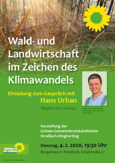 Wald- und Landwirtschaft im Zeichen des Klimawandels